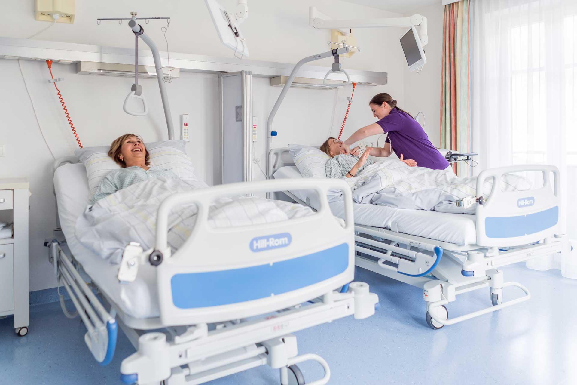Krankenzimmer - Dr. Aufmesser