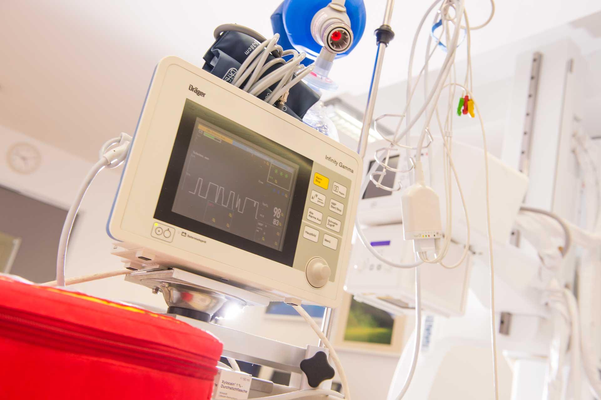 EKG (electrocardiogram) - Doctor Aufmesser Radstadt/Obertauern