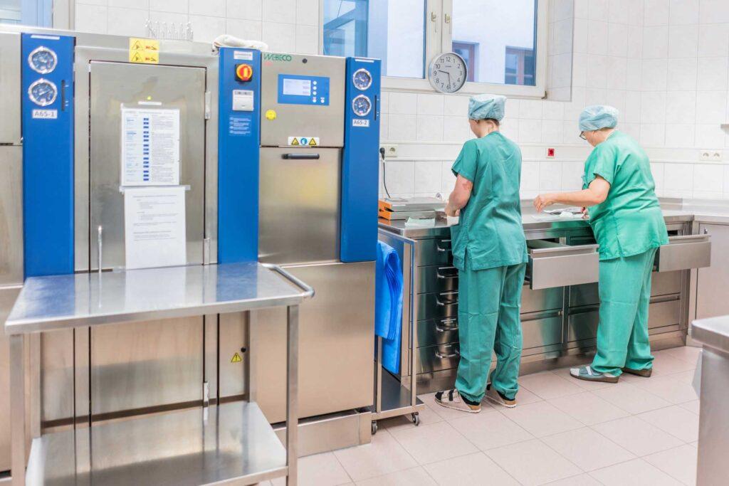 OP-Saal - Klinik Dr. Aufmesser