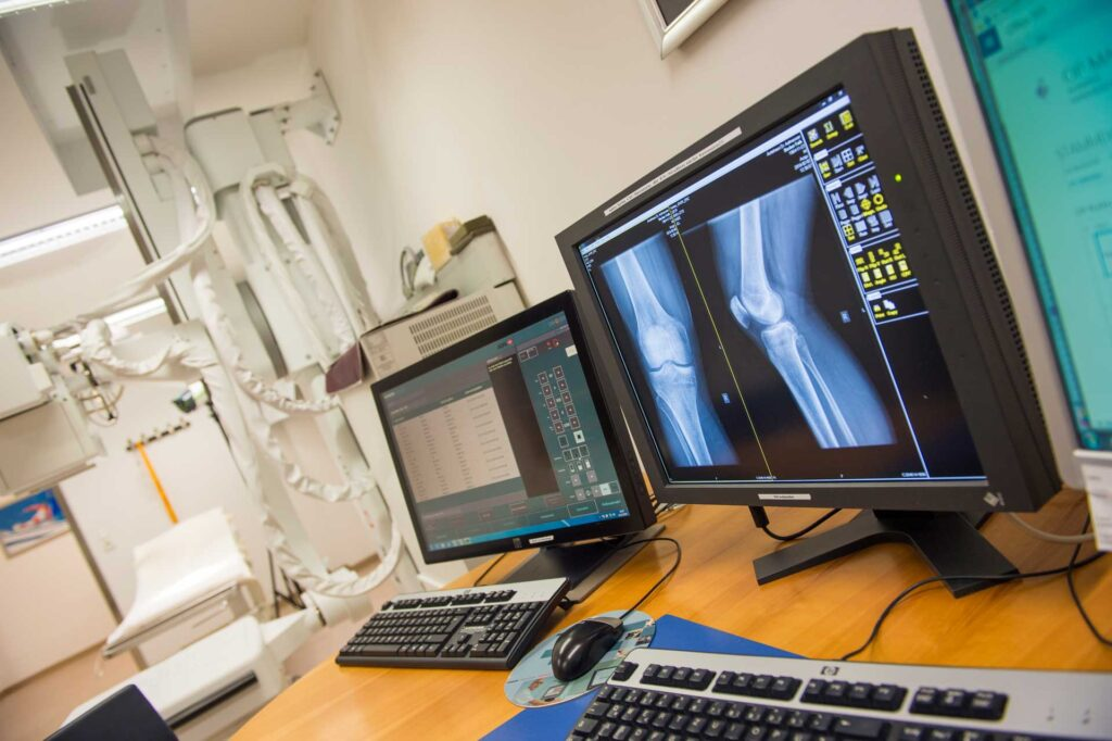 X-ray - Sports Clinic Dr. Radstadt meter