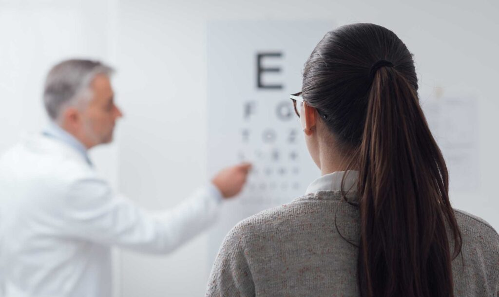 Eye test and driver's license examination - Doctor Aufmesser Radstadt / Obertauern